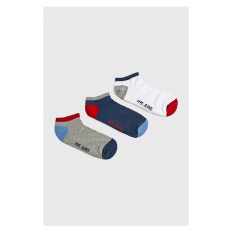 Pepe Jeans - Skarpety Elmo (3-pack)