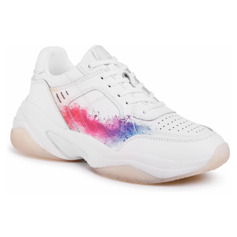 Sneakersy TAMARIS - 1-23735-24 White/Splash 168