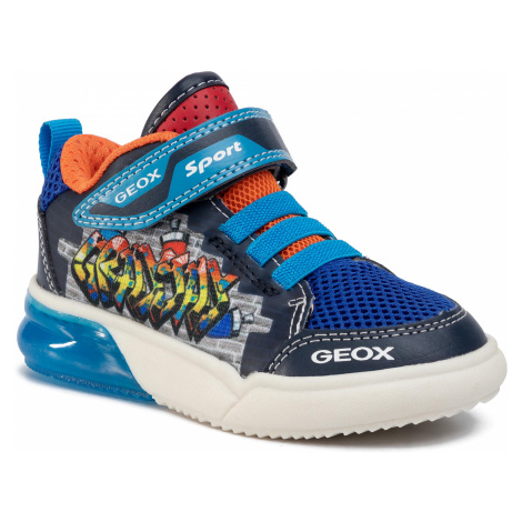 Sneakersy GEOX - J Grayjay B. D J029YD 014BU C0693 M Navy/Lt Blue