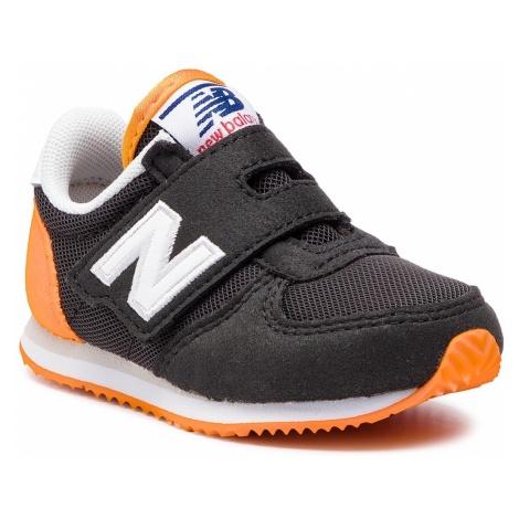 Sneakersy NEW BALANCE - IV220BKO Czarny Pomarańczowy