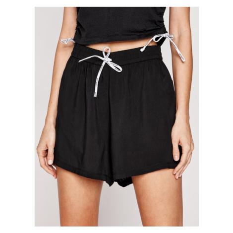 Calvin Klein Swimwear Szorty plażowe KW0KW01457 Czarny Regular Fit