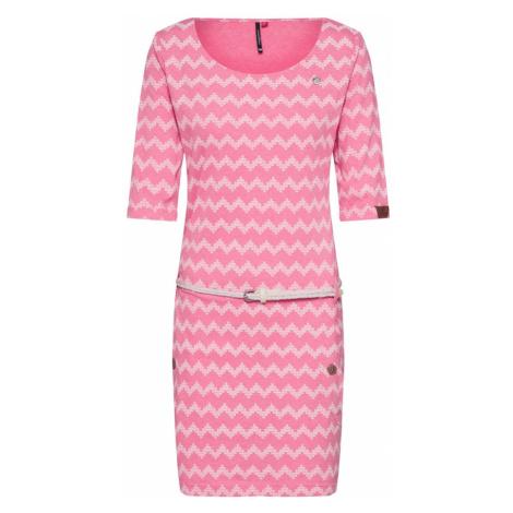 Ragwear Sukienka 'TANYA ZIG ZAG' różowy