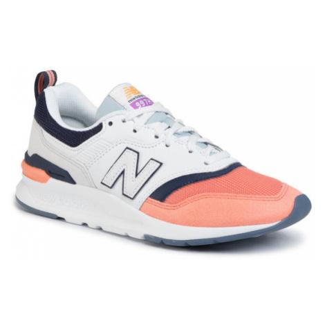 New Balance Sneakersy CW997HBD Kolorowy