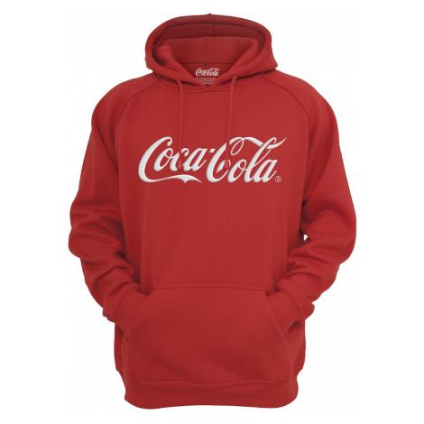 Mister Tee Bluzka sportowa 'Coca Cola' biały / czerwony