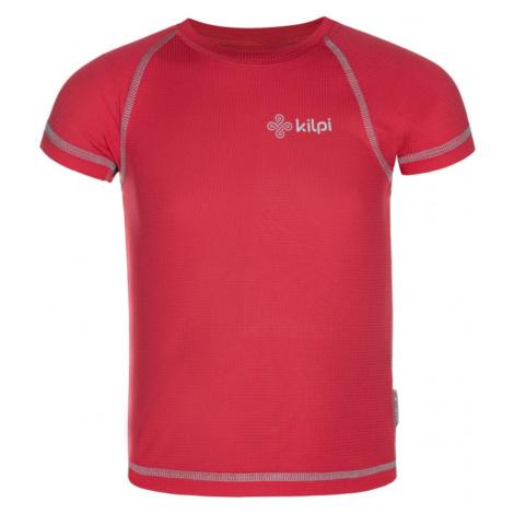Koszulka techniczna teksna Tecni-jg pink - Kilpi