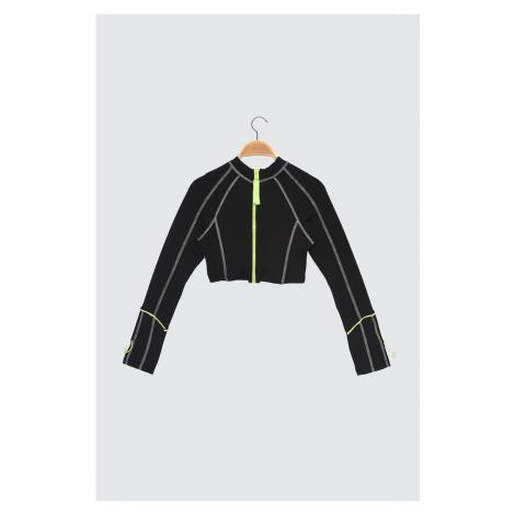 Bluzka sportowa Trendyol Black