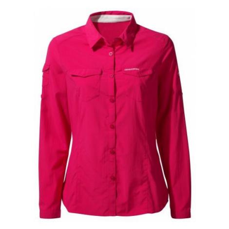 CRAGHOPPERS Koszula damska NOSILIFE ADVENTURE II-42-Różowy