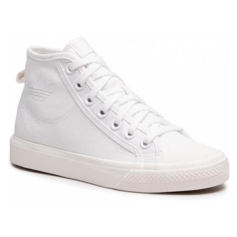 Adidas Buty Nizza Hi B41643 Biały