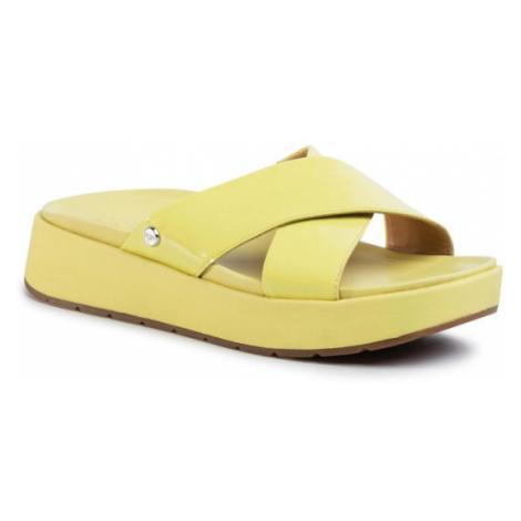 Ugg Klapki W Emily 1107896 Żółty