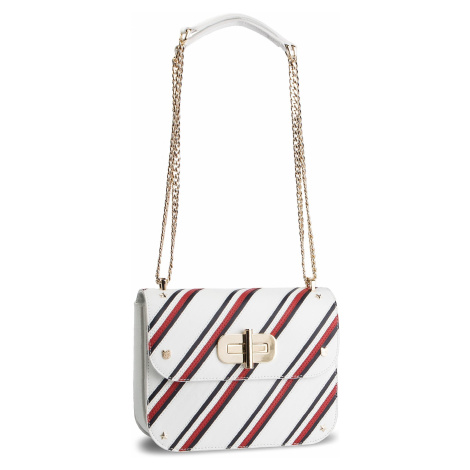 Torebka TOMMY HILFIGER - Turnlock Crossover Stripe AW0AW06701 901
