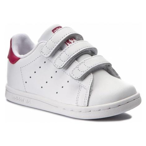 Buty adidas - Stan Smith Cf I BZ0523 Ftwwht/Ftwwht/Bopnk
