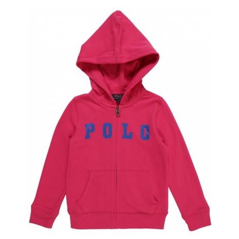 POLO RALPH LAUREN Bluza rozpinana 'ATLANTIC TERRY-POLO' niebieski / różowy