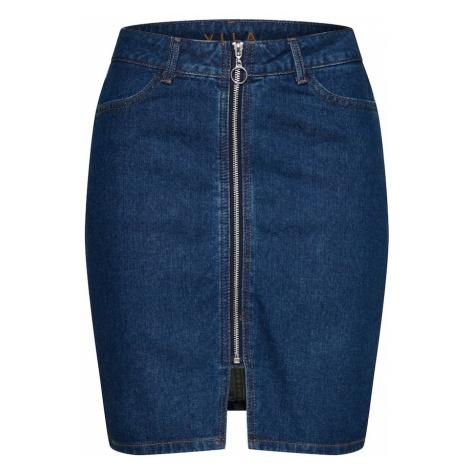 VILA Spódnica niebieski denim
