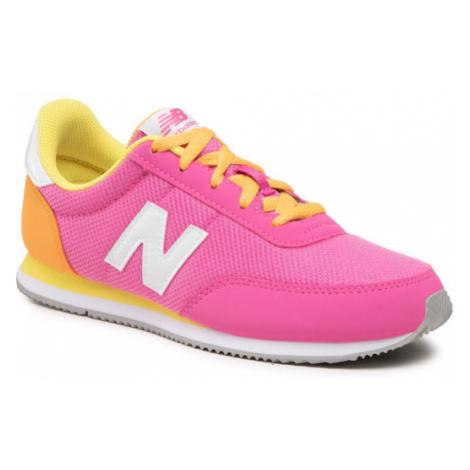 New Balance Sneakersy YC720PN2 Różowy