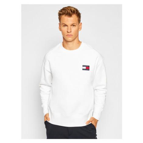 Tommy Jeans Bluza DM0DM06692 Biały Regular Fit Tommy Hilfiger