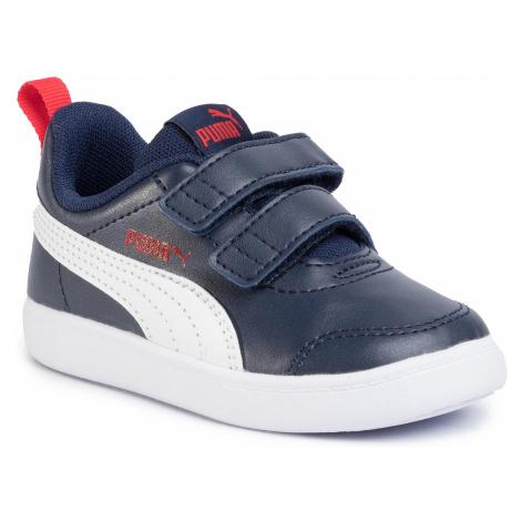 Sneakersy PUMA - Courtflex V2 V Inf 371544 01 Peacoart/High Risk Red