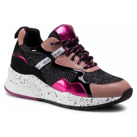 Sneakersy LIU JO - Karlie 35 BF0029 TX102 Black 22222