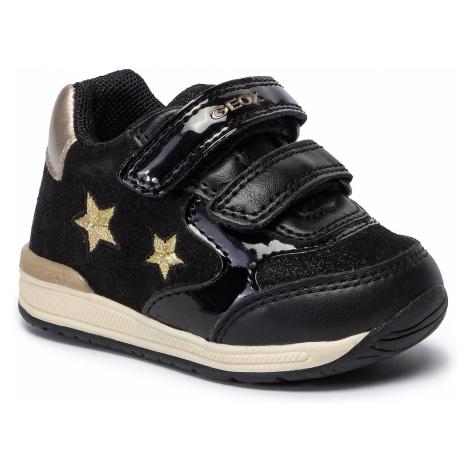 Sneakersy GEOX - B Rishon G. A B940LA 07702 C0495 Black/Gold