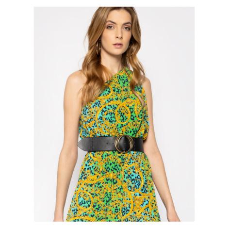 Versace Jeans Couture Sukienka letnia D2HVA416 Kolorowy Regular Fit