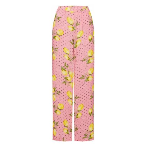 Missguided Spodnie różowy