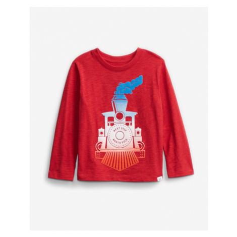 GAP Koszulka dziecięce Czerwony