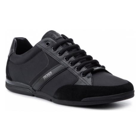 Boss Sneakersy Saturn 50407672 10216105 01 Czarny Hugo Boss