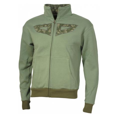 Męska Bluza Bez Kaptura | Zielona Patch green Woox