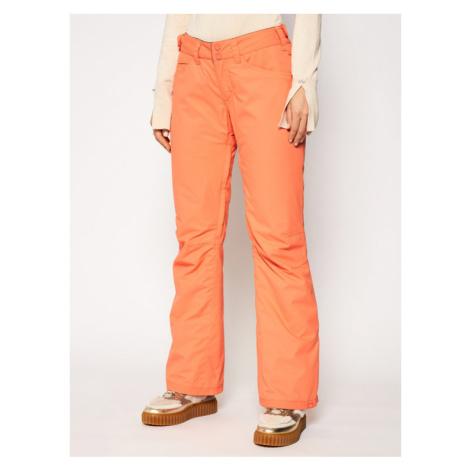 Roxy Spodnie narciarskie Backyard ERJTP03127 Pomarańczowy Regular Fit