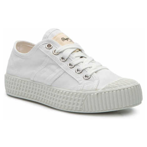 Trampki PEPE JEANS - In-G Low Girls PGS30405 White 800