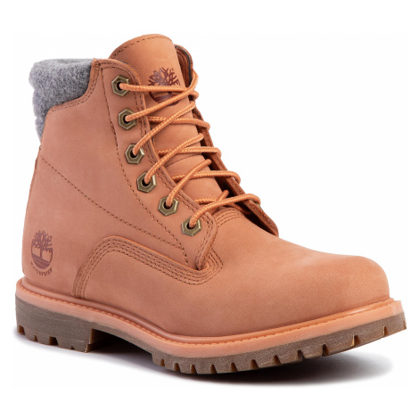 Trapery TIMBERLAND - Waterville 6 In Waterproof Boot TB0A26G3X891 Lt Orange Nubuck