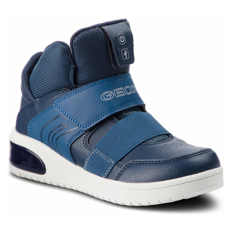 Sneakersy GEOX - J Xled B. A J847QA 05411 C4002 D Navy