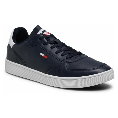 Sneakersy TOMMY JEANS - Tommy Jeans Essential Cupsole EM0EM00573 C87 Tommy Hilfiger