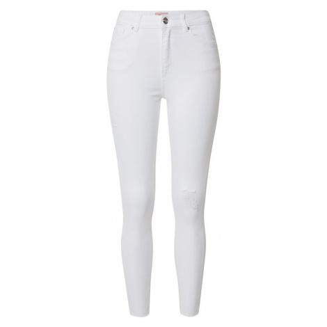 ONLY Jeansy biały