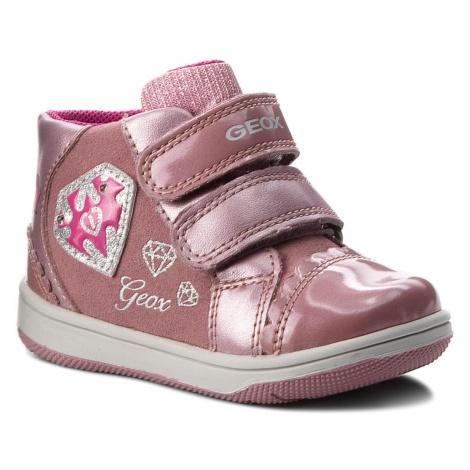 Sneakersy GEOX - B N.Flick G.C B841HC 0AUAJ C8006 Dk Pink