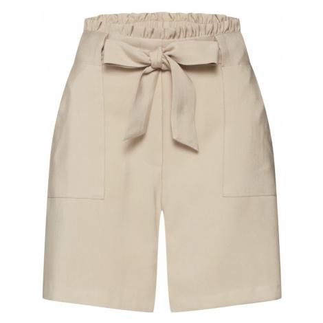 VILA Spodnie 'VILUKKI HW SHORTS' brązowy