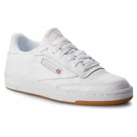 Buty Reebok - Club C 85 BS7686 White/Light Grey/Gum