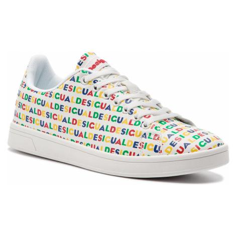 Sneakersy DESIGUAL - Cosmic Logos 19SSKP15 1000