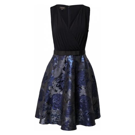 APART Sukienka koktajlowa czarny / niebieski