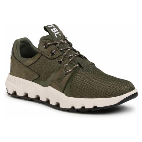 Sneakersy TIMBERLAND - Urban Exit Oxford TB0A22XVA581 Dark Green Mesh