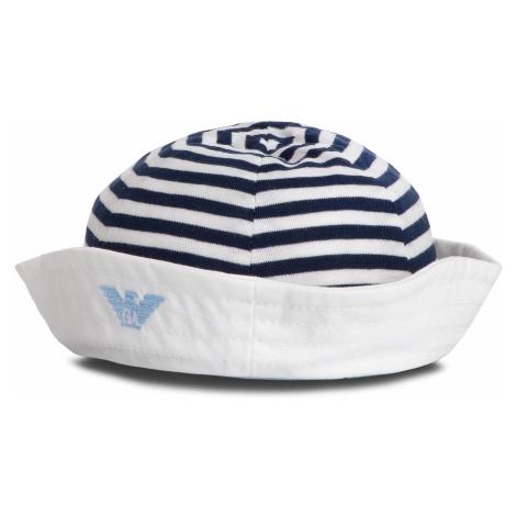 Czapka EMPORIO ARMANI - 404366 9P541 03610 White/Blue