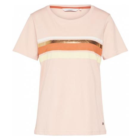 NÜMPH Koszulka 'NUBRYCE' rdzawoczerwony / różowy pudrowy Nümph
