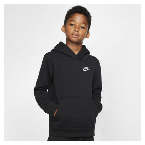 Bluza z kapturem dla dużych dzieci Nike Sportswear Club - Czerń
