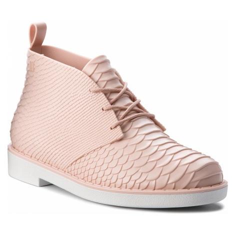 Botki MELISSA - Desert Boot Python + B 32366 Pink/White 52137