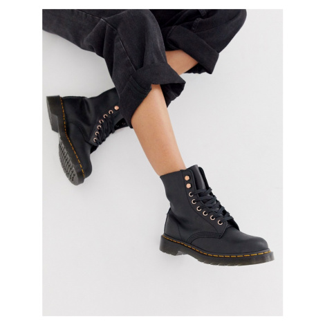 Dr Martens 1460 soapstone leather ankle boots in black