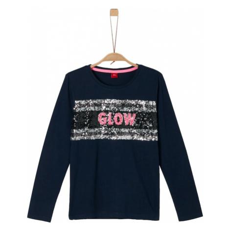 S.Oliver Junior Koszulka kobalt niebieski / różowy