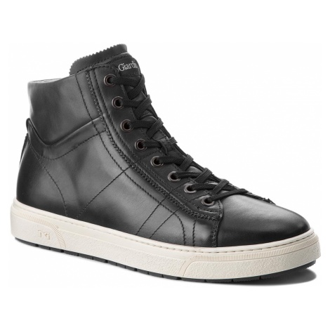 Sneakersy NERO GIARDINI - A800601U Golf Nero 100