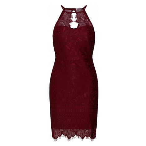 WAL G. Sukienka koktajlowa 'Dress' czerwone wino