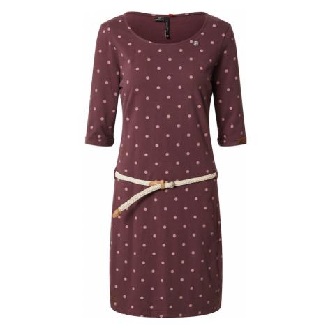 Ragwear Sukienka 'Tamy' czerwone wino