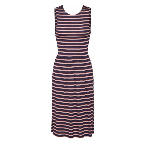 ONLY Sukienka 'LADETTE' niebieska noc / różowy pudrowy