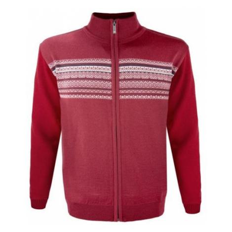 Kama MERINO SWETER 4106 czerwony M - Sweter męski